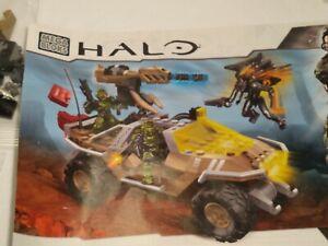 Mega Bloks Halo UNSC Night Ops Gausshog 97134