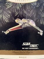 Hallmark Keepsake Ornament Star Trek Next Generation Klingon Bird of Prey 1994