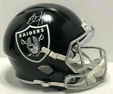 Bo Jackson Signed F/S Replica Oakland Raiders Blaze Football Helmet BAS N43686