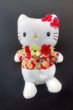 "Hello Kitty Stuffed 8"" Aloha Doll"