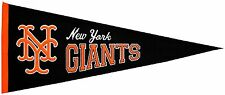 MLB Baseball New York Giants Mets Banner großer Wimpel Pennant heritage Wolle