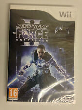 Star Wars The Force Unleashed II Wii  NEW SEALED UK PAL