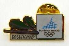 Pin Spilla Olimpiadi Torino 2006 - Attrezz. Sportive Pattinaggio Di Velocità 2