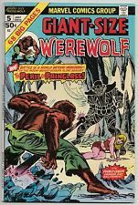 GIANT-SIZE WEREWOLF BY NIGHT #5 JULY 1975 VF- 7.5 MARVEL COMICS