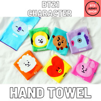 OFFICIALLY LICENSED AUTHENTIC BT21 | CHARACTER HAND TOWEL