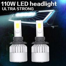 2 pcs Led Car Headlight 110W 9005 9006 HB3 HB4 6500k Cold white 12V bulb 11000LM