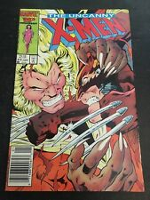 Uncanny X-men#213 Incredible Condition 8.5(1987) Sabertooth Vs Wolverine
