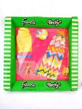 More details for vintage francie becky fashion doll outfit barbie 1970 mod zig zag zoom mattel