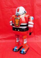 Jouet de l'Espace. ROBOT ASTRONAUT modèle rouge. 14 cm. Ha Ha Toy MS650