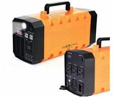 1000W Peak 500W Rated 288WH 110-220V Solar Inverter Generator W/ Light USB NEW