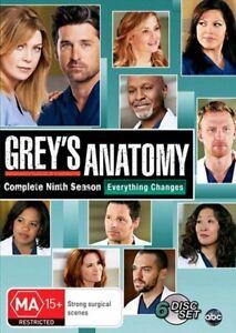 Grey's Anatomy - Season 09 DVD