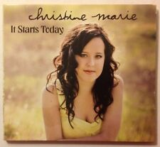 It Starts Today~Christine Marie~Cd~2011