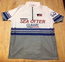 Mens Primal Subaru Sea Otter Classic Short Sleeve Cycling Jersey Large