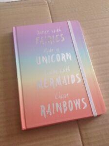 Fairies, Unicorn, Mermaids, Rainbow A5 Notebook  -  Great Gift Idea