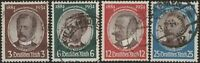 Stamp Germany Mi 540-3 Sc 432-5 1934 WWII 3 Reich Research Peters Luderitz Used