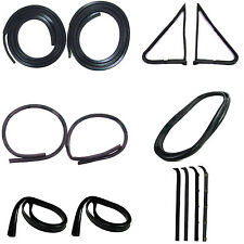 1980-1986 Ford Truck F-Series, Complete Weatherstrip Kit Without Trim Groove