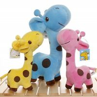 Lovely Giraffe Soft Plush Toy Little Baby Stuffed Animal Doll