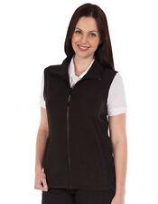 Zip Patternless Waistcoats for Women