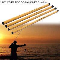 hard glass fiber telescopic fishing rod sea travel spinning pole fishing tool Kn
