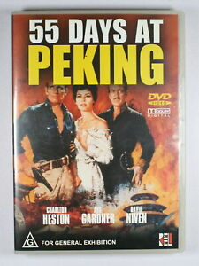 55 Days at Peking DVD FREE POST