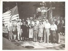 World War II postcard Chicago Paul Plomin Block Dedication NEW N Bosworth & Ace