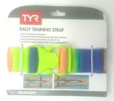 TYR Rally Training Pull Strap - Yellow Orange & Blue Advanced Swimmers (ST004)