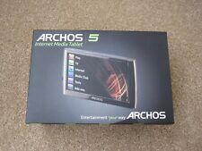 "Archos 5 250GB Internet Media Tablet WiFi 5"",High Resolution Touch Screen 4.8"""