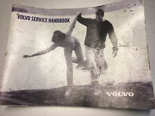 Volvo S40 1.9D 115 Sport Service Book Handbook Service History Stamps Ownership