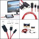 Cable Mini USB MHL a HDMI Adaptador de TV 1080P HD para Samsung Galaxy &iPhone📺