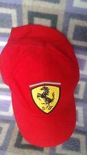 Men s Ferrari Vermelho Boné de Baseball 6b04b36e49a