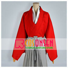 Cosonsen Rurouni Kenshin Himura Kenshin Cosplay Costume All Size Custom Made