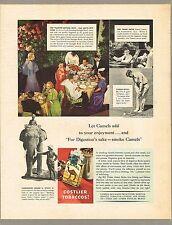 1930s BIG Vintage Camel Waldorf Astoria Hotel Starlight Roof Photo Print Ad