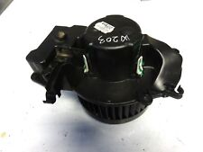 MERCEDES BENZ C CLASS W203  HEATER BLOWER MOTOR WITH RESISTOR