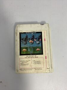REFOAMED! THE GRATEFUL DEAD 8-TRACK CASSETTE - THE HISTORY OF - PRIDE 0016-8