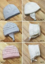 Knitting Patterns -  Boys and Girls Selection Hats 6 sizes prem-2yrs P0312