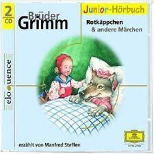 MANFRED STEFFEN - GRIMMS MÄRCHEN 3-ROTKÄPPCHEN UND ANDERE MÄRCHEN 2 CD NEU