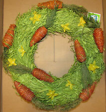 Springtime-Easter Wreath with Yellow Flowers