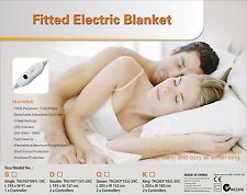 Digilex King Size Fitted Polyester Electric Blanket With Controller