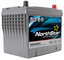 NORTHSTAR Pure Lead Automotive Group 35 Battery NSB-AGM48