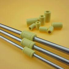 3D Printer Solid Polymer LM6UU LM8UU LM10UU Bearing - 6mm 8mm 10mm Shaft Rod