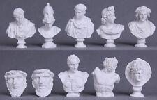 10pcs Sculpture Drawing Sketch Plaster Bust Cast Figure Statue Model Manikins