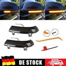 Dynamische LED Spiegelblinker Schwarz Für VW für Passat 3C 3B Sharan für Jetta