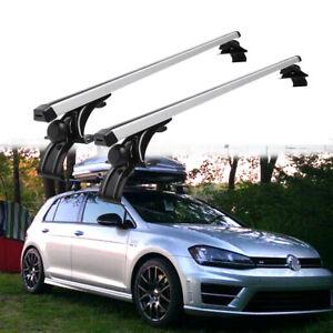"""For VW Golf Passat Jetta Aluminum Car Top Roof Rack Cross Bar 48""""Luggage Carrier"""