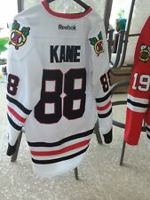 Authentic 2013 Chicago Blackhawks Patrick Kane FIGHT STRAP Jersey Sz 54 Reebok