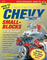 Chevrolet Small Block How To Book  Vizard Chevy Build Manual Performance Budget