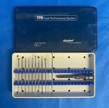 Stryker 5100-120-450 SD/PD Attachment Set With 10 Assorted Burrs and Custodia
