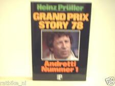 GRAND PRIX STORY 78 Heinz Prüller, F1, FORMULA ONE MARIO ANDRETTI