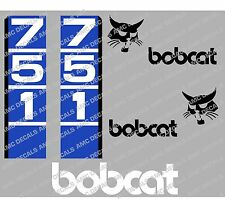 BOBCAT 751 SKID STEER DECAL STICKER SET
