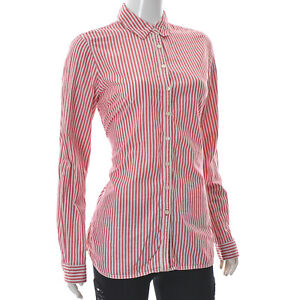 Tommy Hilfiger Tjw Sleeve Bow Chambray Blouse Blusa para Mujer