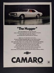 1967 Chevrolet Camaro Sport Coupe Pacesetter Sale vintage print Ad